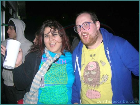 With Dan Deacon at MtyMx.