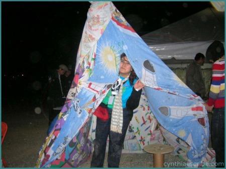 Taquitojocoque's tent at MtyMx.