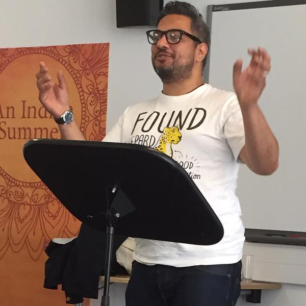 Nikesh Shukla. Picture: Catherine Dunn.